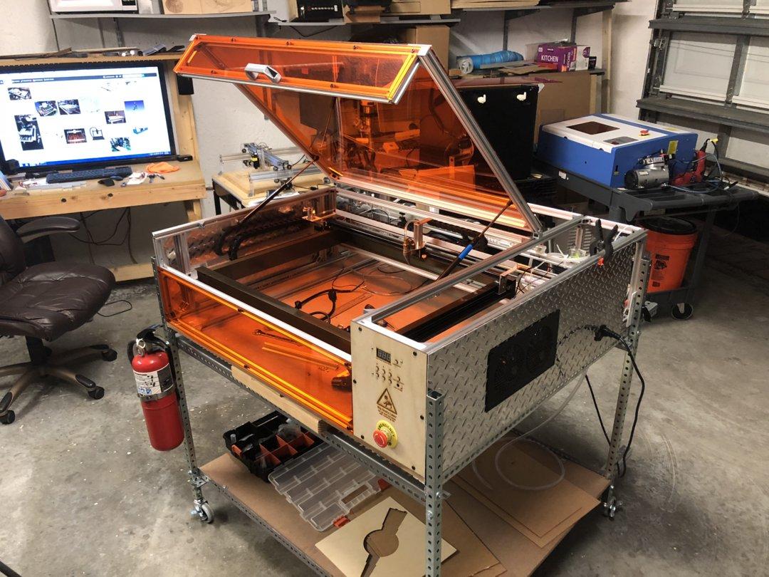 Welcome to Franken 40 Build Project - DIY K40 Laser